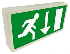 ETERNA EXIT3MLED  Led Emergency Exit Box Maintained